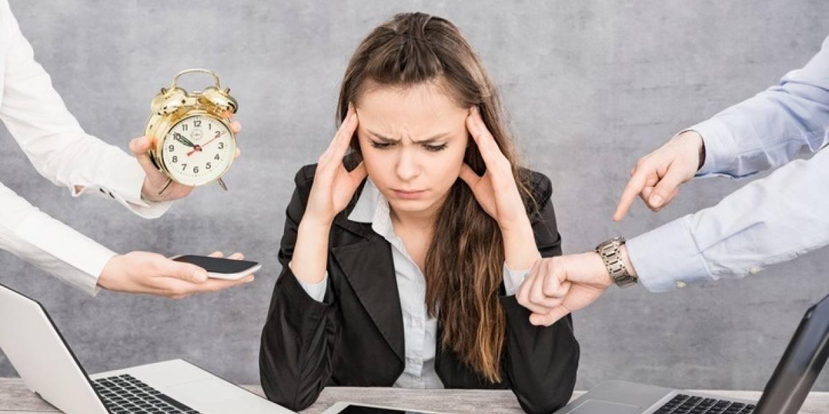 Ponle pausa al estrés laboral