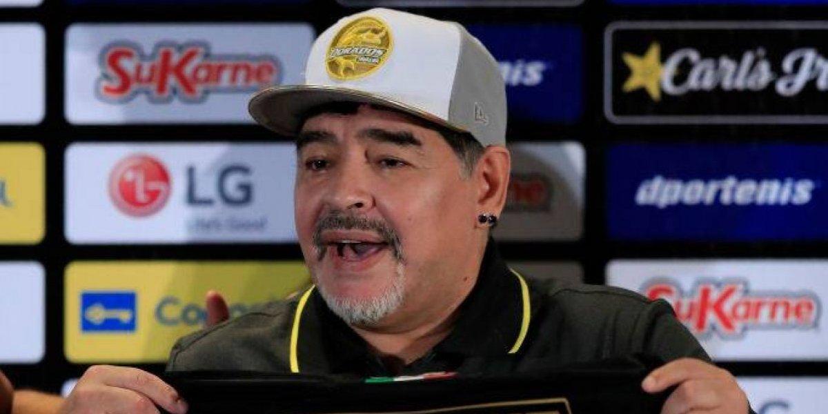 Maradona pronostica triunfos para México con el