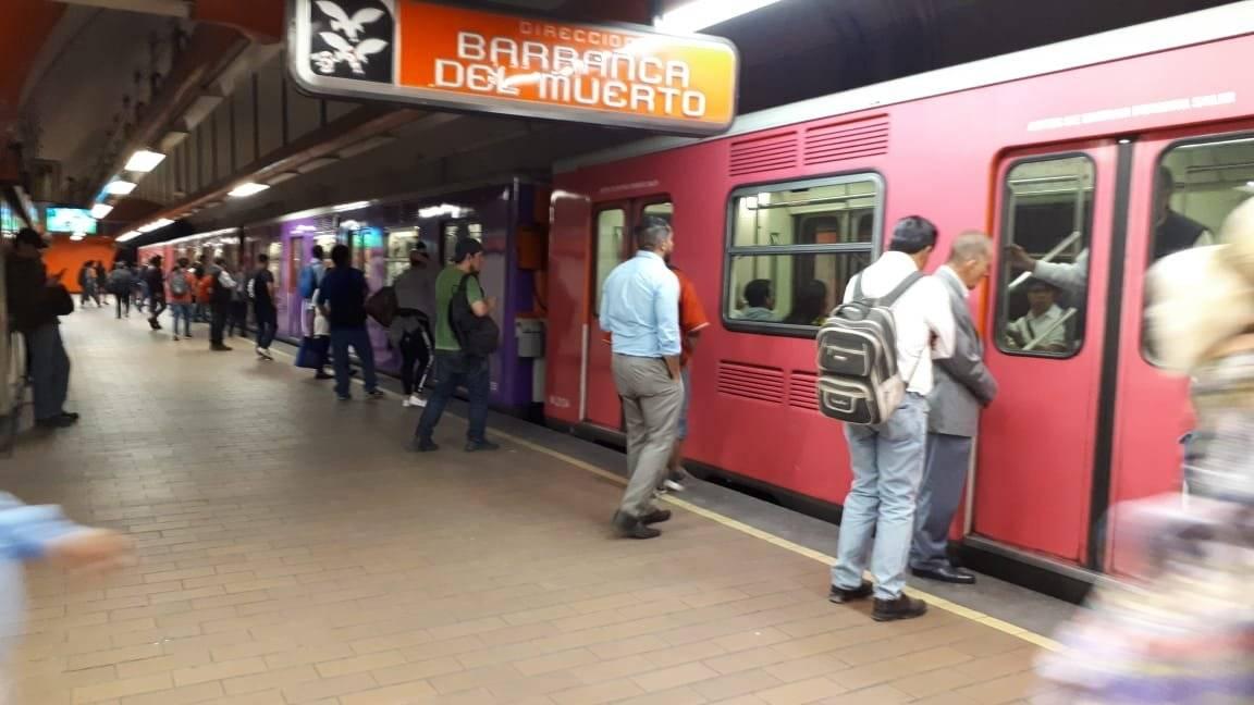 En las últimas semanas el Metro ha presentado múltiples fallas, como el sistema de frenado de convoys | Foto: Aabye Vargas