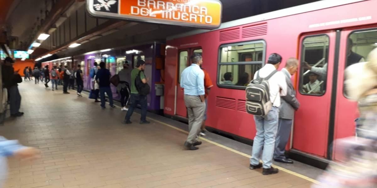 L7 del Metro, indefensa a incendios y sin escaleras para huir
