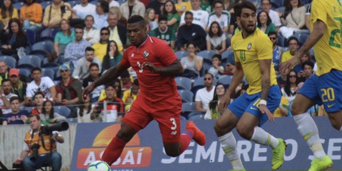 Panamá le anota por primera vez a Brasil y saca empate