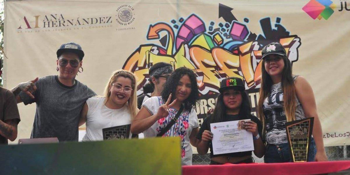 Diputada Ana Cristina Hernández destaca arte urbano de Azcapotzalco