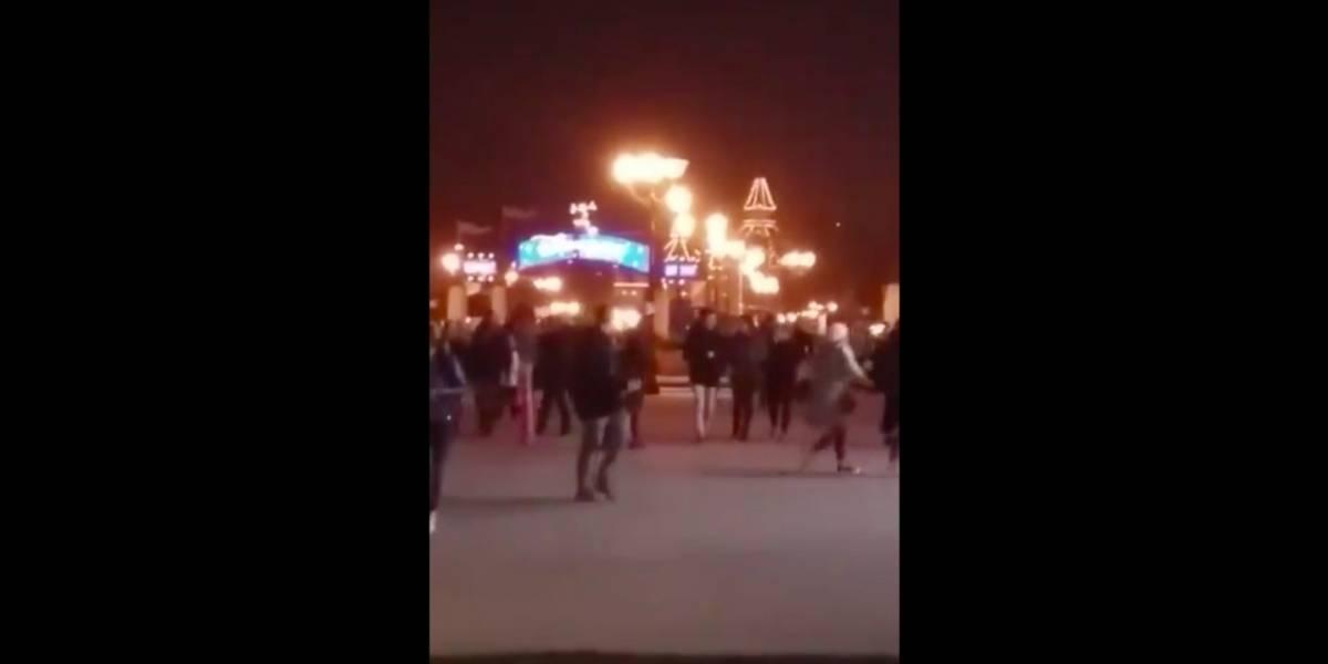 Reportan evacuación en Disney de París