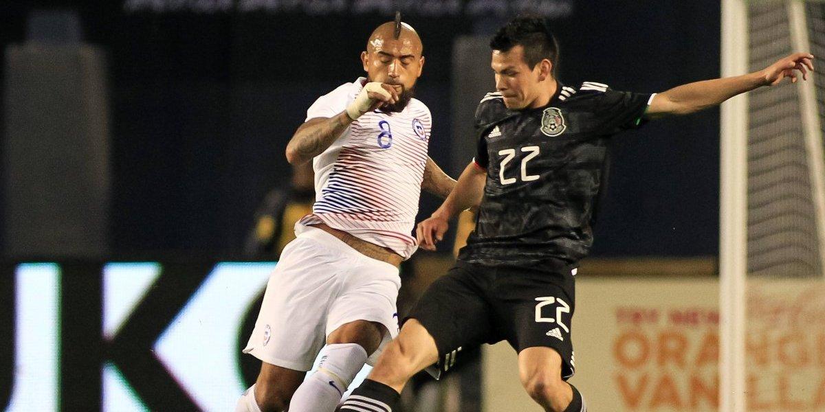 Uno a uno de Chile ante México: La entrega de Vidal y el regreso de Aránguiz destacaron en un pésimo partido
