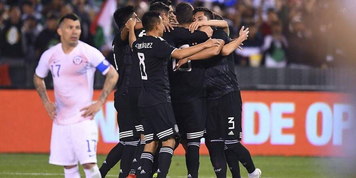 La Roja de Rueda se durmió 12 minutos, sumó más dudas y cayó sin apelación ante un efectivo México