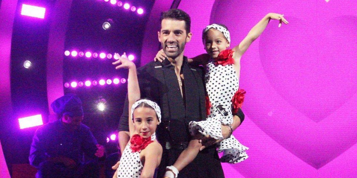 Vídeo: Toni Costa baila junto a Alaïa en el Teletón