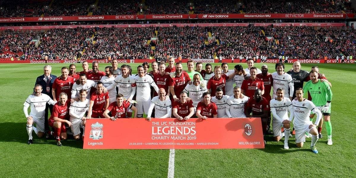 VIDEO: Los golazos del Leyendas de Liverpool vs Leyendas del Milan