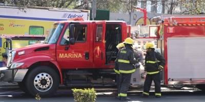 Incendio en las instalaciones de la Conagua