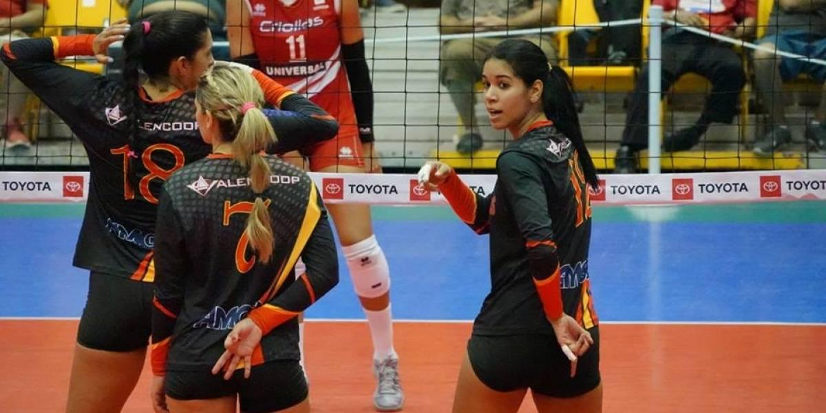 Llaneras vencen a las Valencianas en el Voleibol Superior