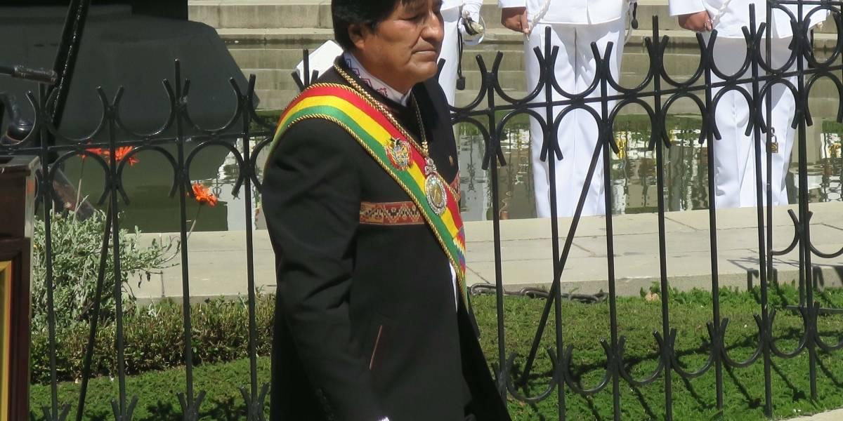 """Evo Morales reclamó el derecho del país a tener mar """"nuestro reencuentro no sólo es posible sino inevitable"""""""