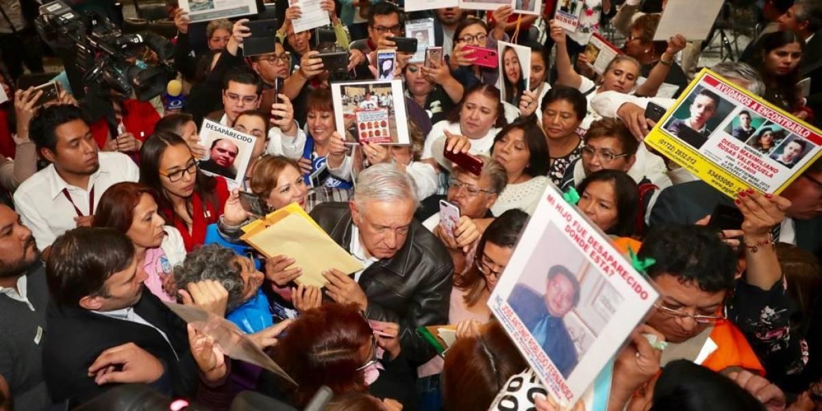 No hay límite presupuestal en búsqueda de desaparecidos: AMLO