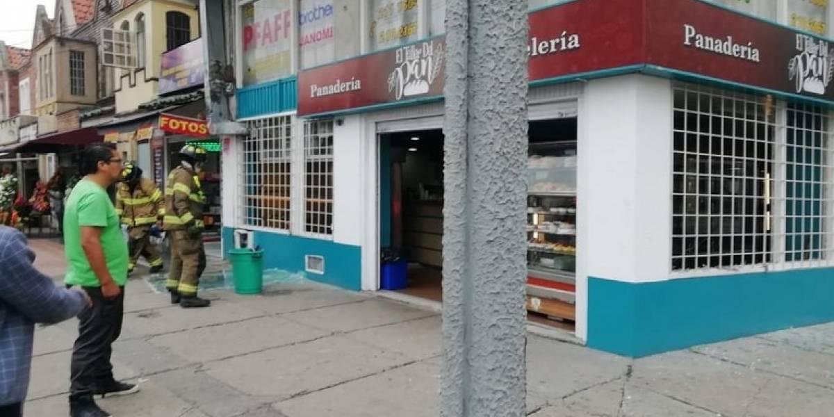 Reportan fuerte explosión en Chapinero dentro de una panadería