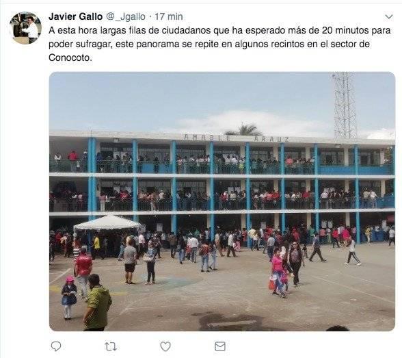 Elecciones 2019 Conocoto