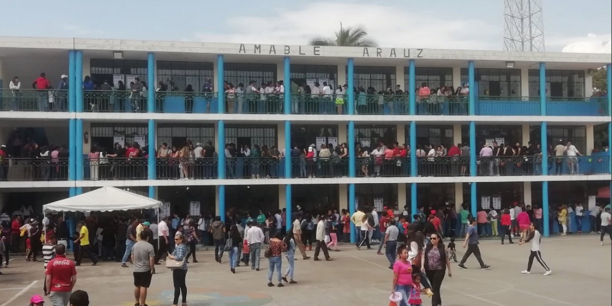 Elecciones 2019: Se reportan inconvenientes en algunos recintos electorales en el país