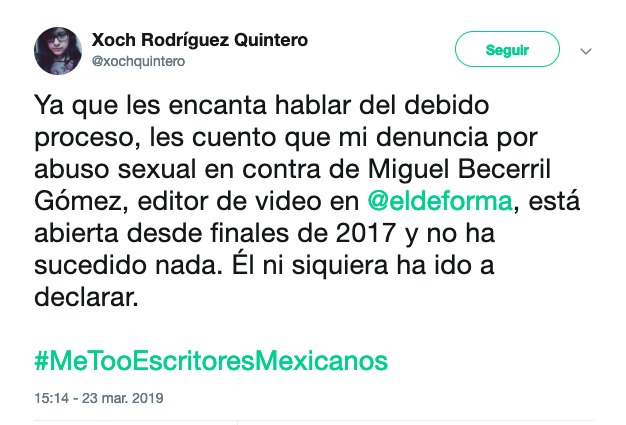 me too escritores mexicanos