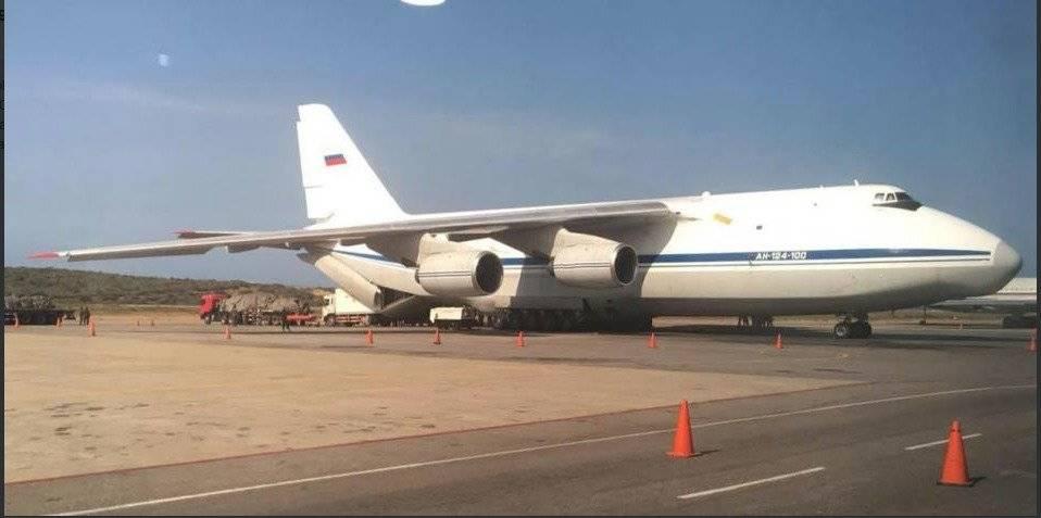 Dios aviones rusos llegaron a Venezuela con militares