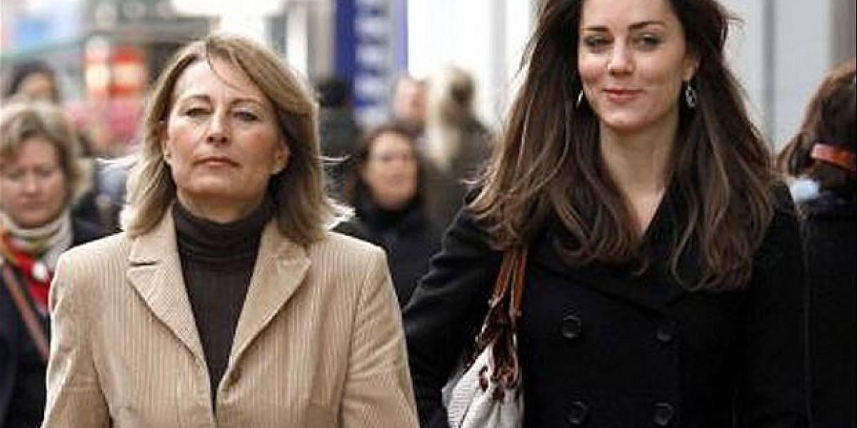 """Aseguran que la madre de Kate Middleton tiene """"reales"""" problemas financieros"""
