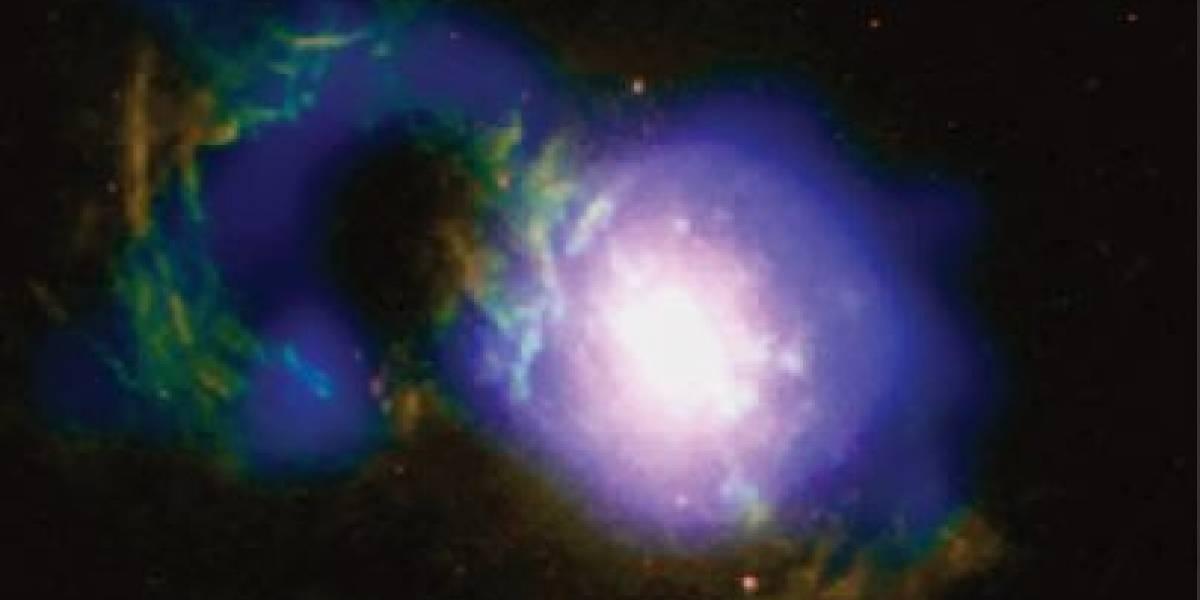 ¿Ves la tormenta en esta 'taza de té' cósmica?