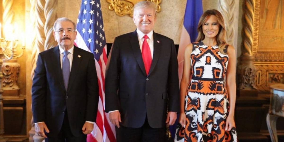 Danilo le pide a Trump sacar a RD de la lista de países peligrosos