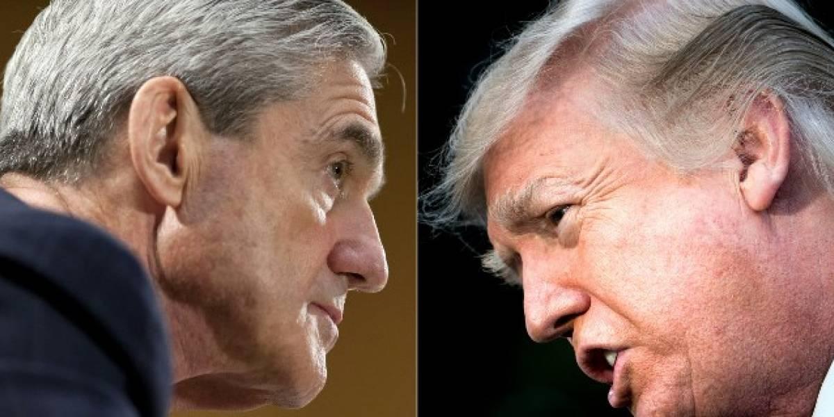 """Trump critica audiencia de Robert Mueller y la califica de """"vergüenza"""""""