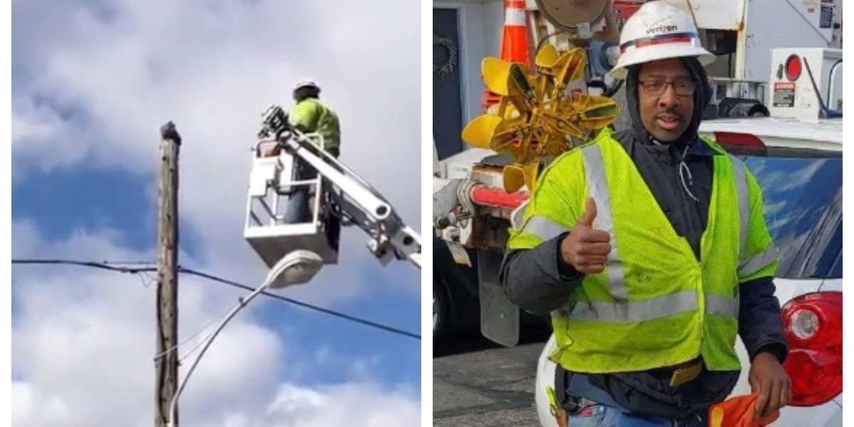 """Trabajador que rescató a un gato atrapado es suspendido tres semanas por """"mal uso de los equipos"""""""