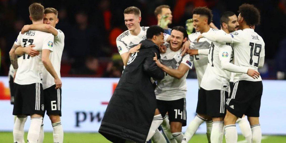Alemania se acordó de ganar y sorprendió de visita a Holanda en las clasificatorias para la Euro