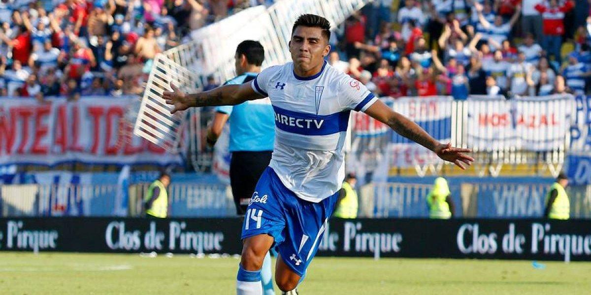 """""""Recuperamos un jugador para el fútbol chileno"""": La dulce revancha que vive César Pinares en la UC"""