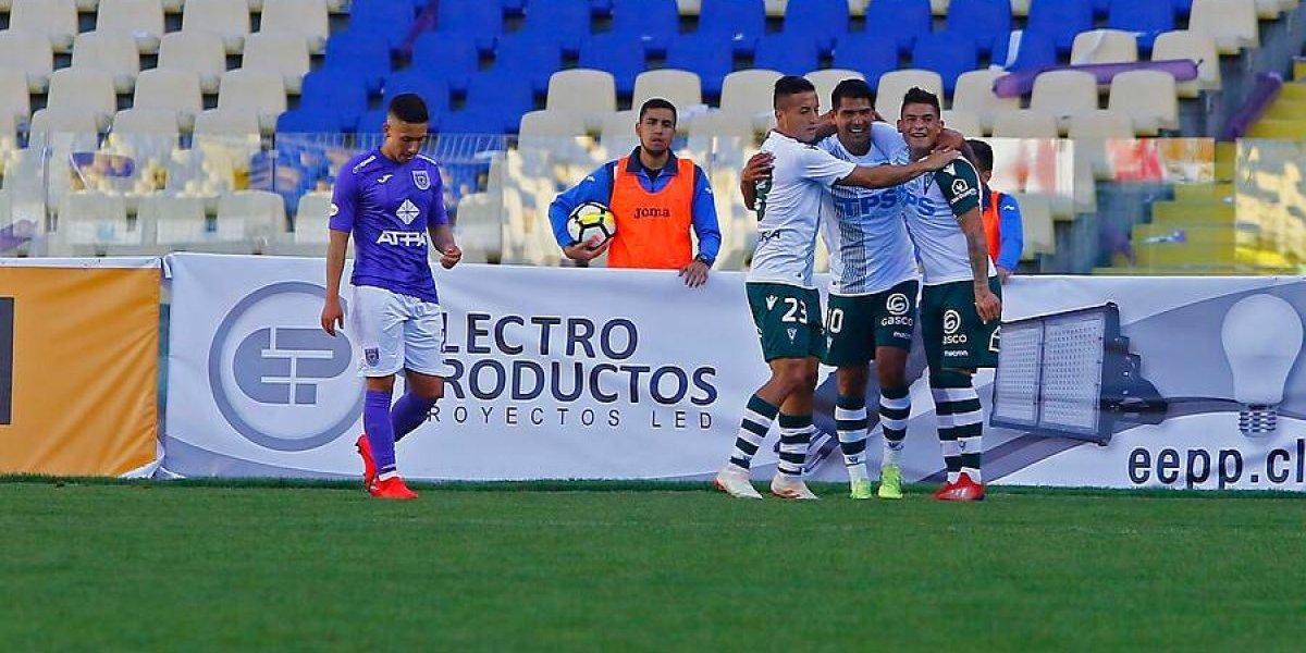 Así vivimos la goleada de Santiago Wanderers sobre Deportes Concepción en Copa Chile