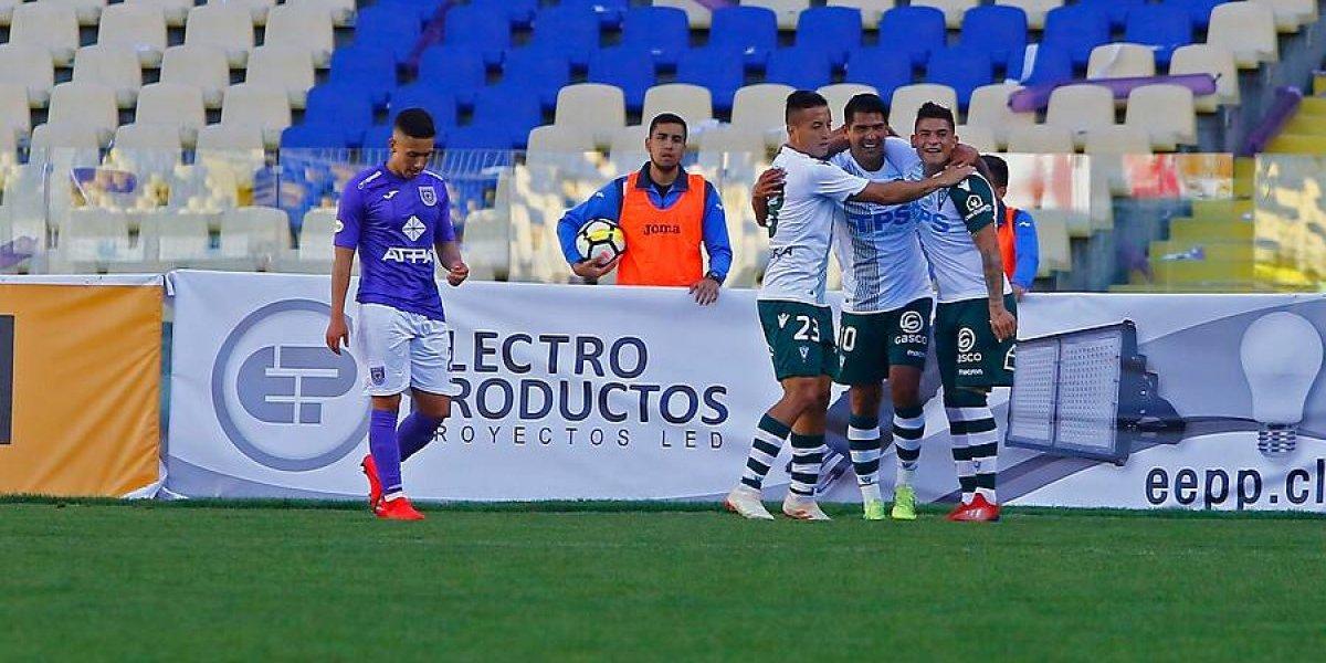 Santiago Wanderers vapuleó a Deportes Concepción y avanzó en Copa Chile