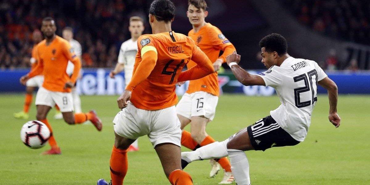 Alemania logró una victoria agónica frente a Holanda
