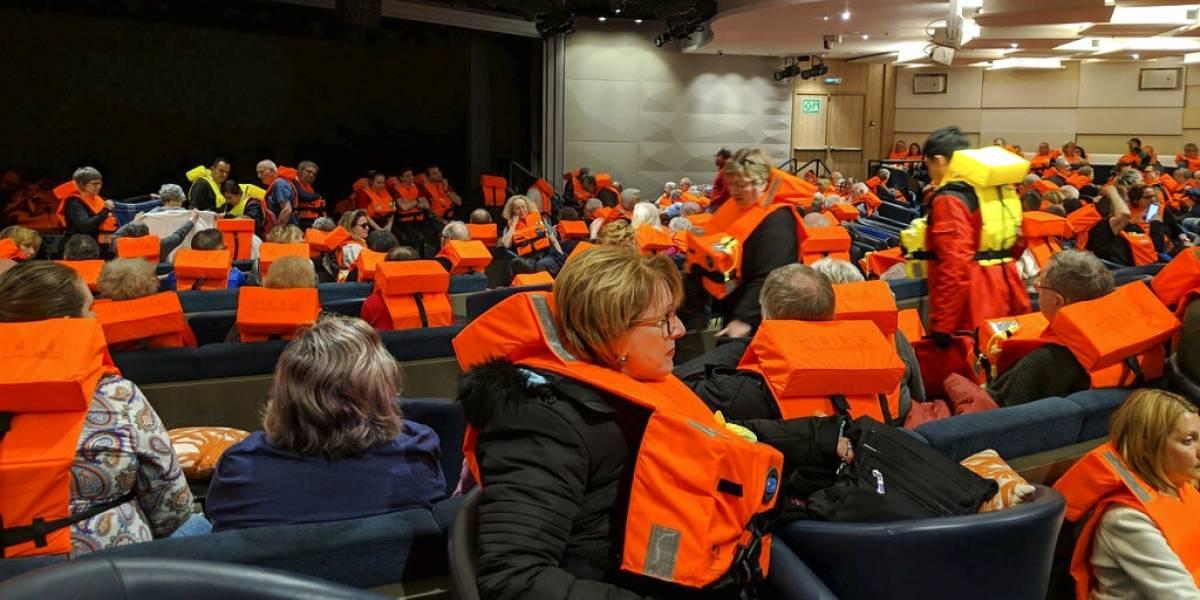 La travesía se convirtió en una pesadilla como el Titanic: el aterrador rescate a bordo del crucero noruego Viking Sky