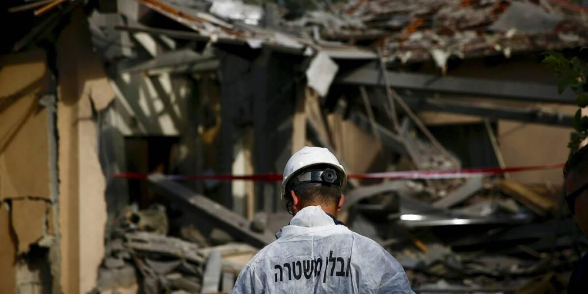 Se eleva la tensión: cohete disparado desde Gaza cae en pleno centro de Israel y deja siete personas heridas