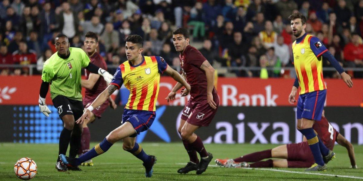 Un agónico triunfo logró la selección de Cataluña ante Venezuela