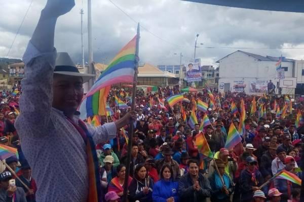 Elecciones 2019: Delfín Quishpe obtuvo 23.81% de votos para la Alcaldía de Guamote