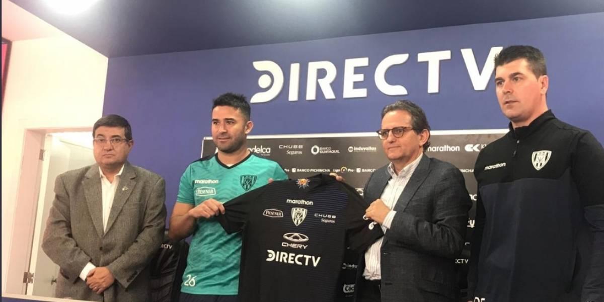 Claudio Bieler fue presentado oficialmente en el Independiente del Valle