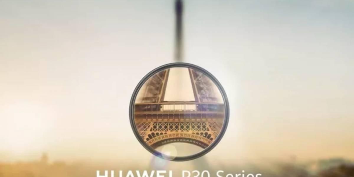 Ven a ver con nosotros el lanzamiento de la familia P30 de Huawei