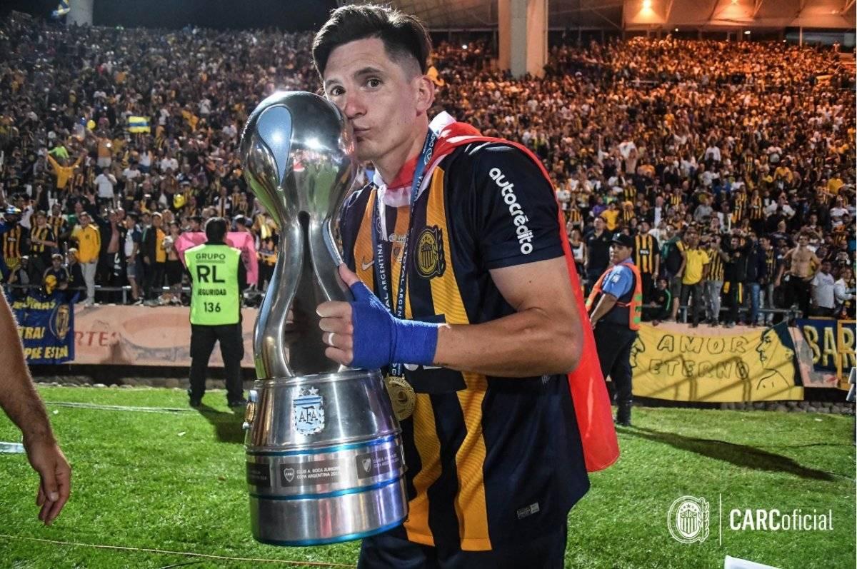 El Poncho fue el último en gritar campeón en Argentina / imagen: Facebook Rosario Central