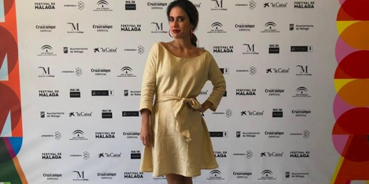 Carolina Ramírez gana premio en festival español por 'Niña errante', cinta de Rubén Mendoza