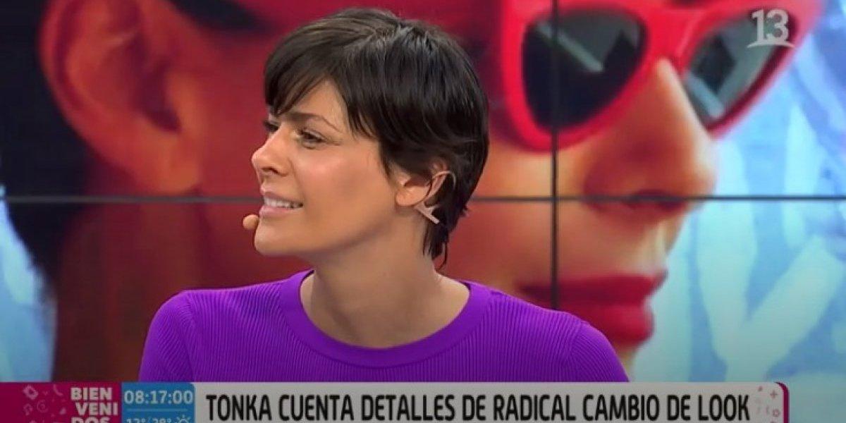 Tonka Tomicic no convenció a los televidentes: mira las reacciones que dejó su nuevo look