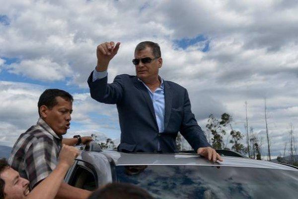 Gobierno denunciará a Correa por fondos supuestamente recibidos de Venezuela