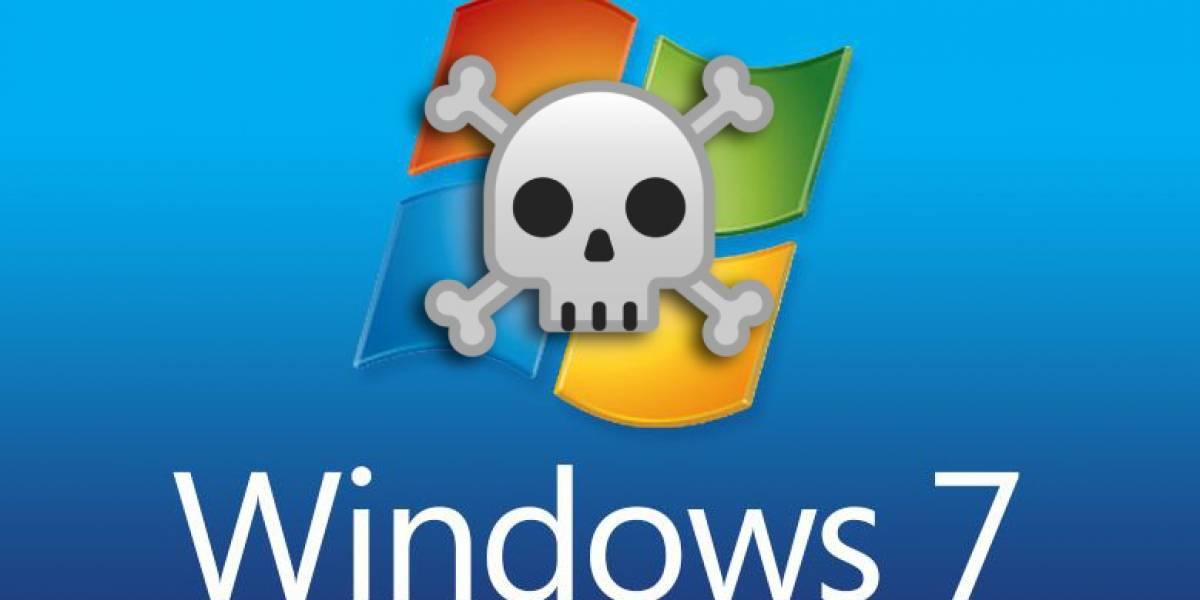 Windows 7 por fin dejará de recibir soporte después de 10 años de estar en el mercado