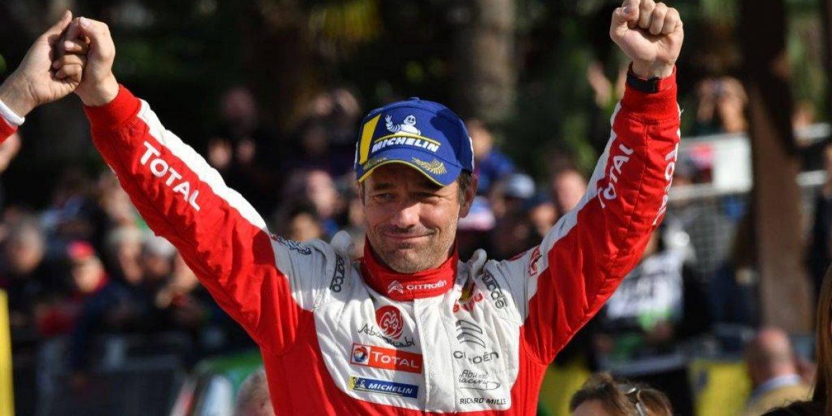 El histórico multicampeón Sebastien Loeb correrá el rally de Chile
