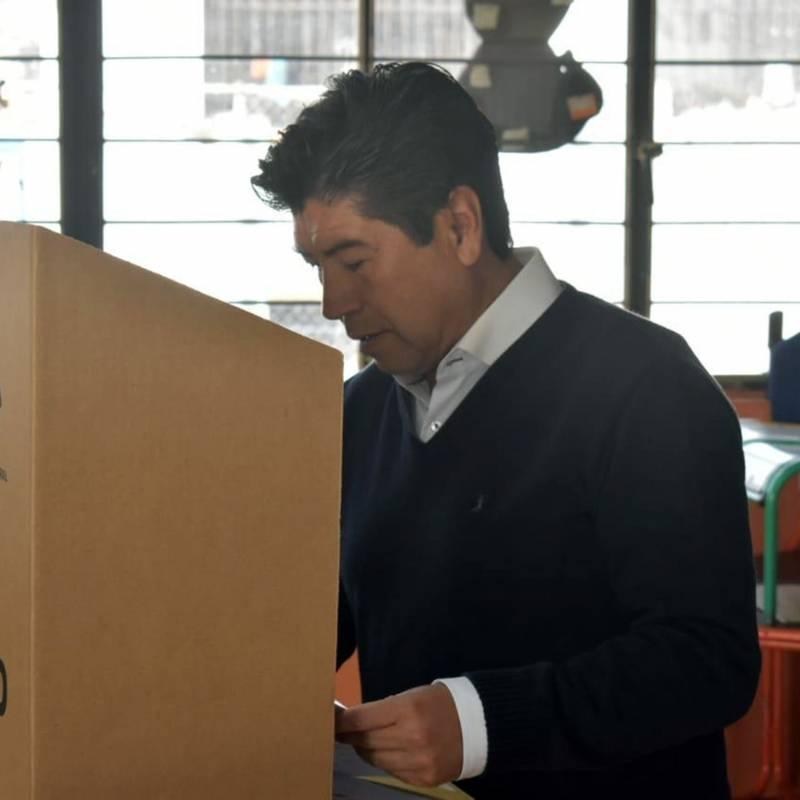 Delfín Quishpe, virtual ganador de la alcaldía de Guamote