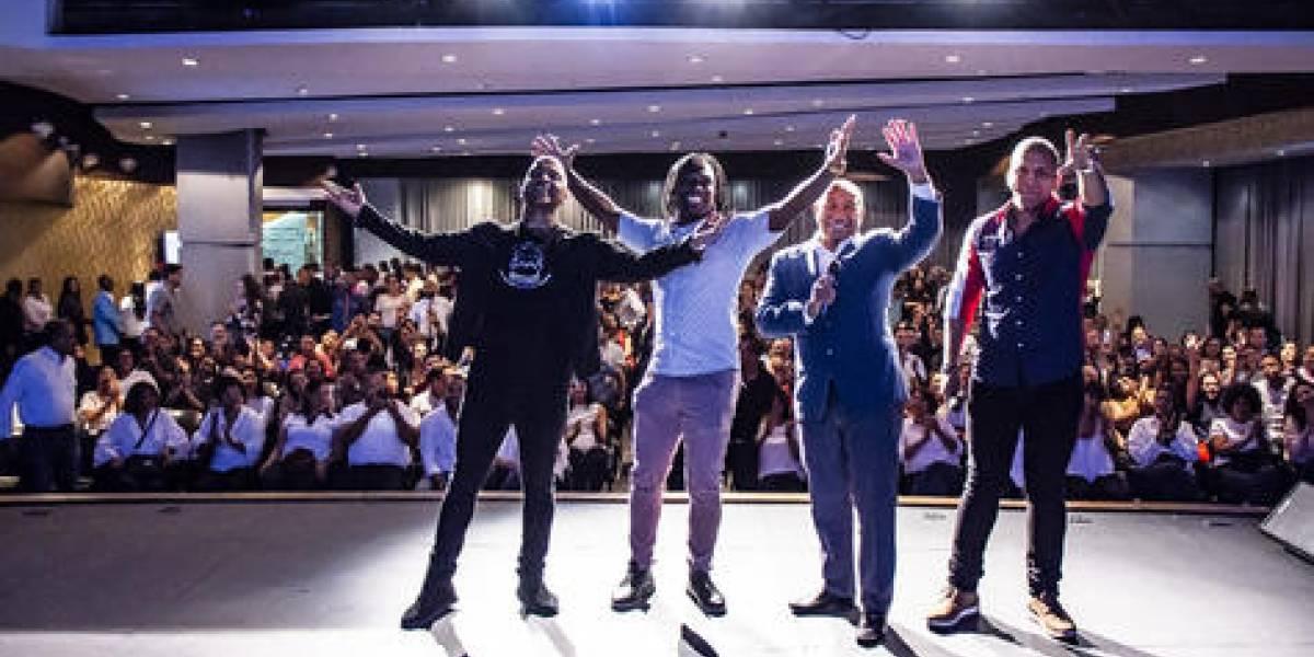 Liondy Ozoria, Manolo Ozuna y El Nagüero pusieron a gozar al público