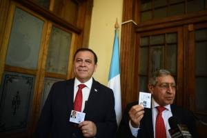 Luis Velásquez y Manuel Soto, binomio del partido Unidos