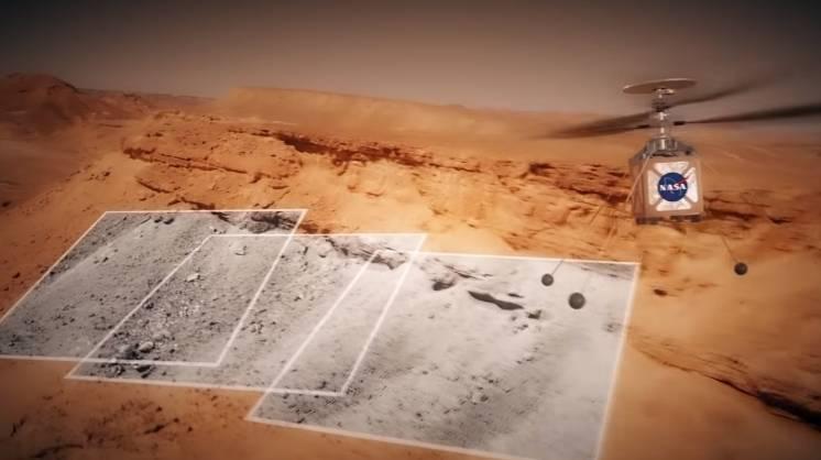 NASA desarrollará primer helicóptero para ser enviado a Marte