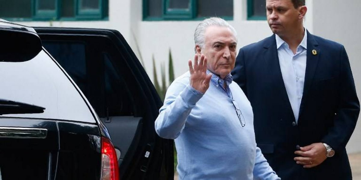 Juez brasileño ordenan liberar al expresidente Michel Temer