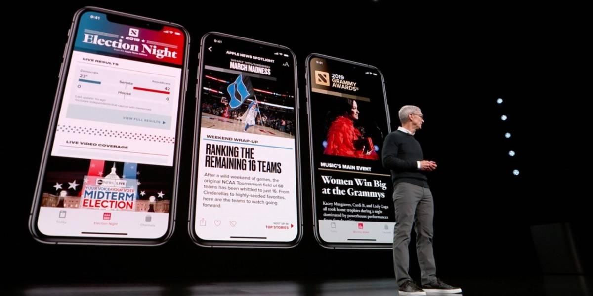 Apple anuncia News+ que quiere revivir a las revistas de papel couché, sin anunciantes y con dos mega diarios adentro