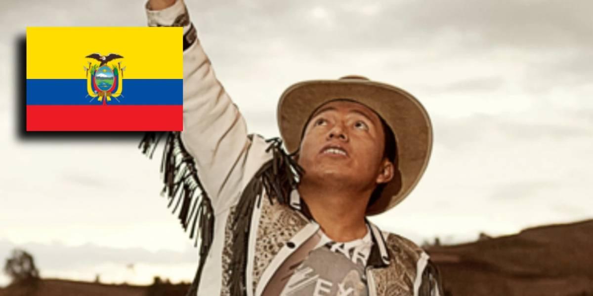 Delfín Quishpe, famoso cantante de Youtube, fue elegido alcalde de Guamote