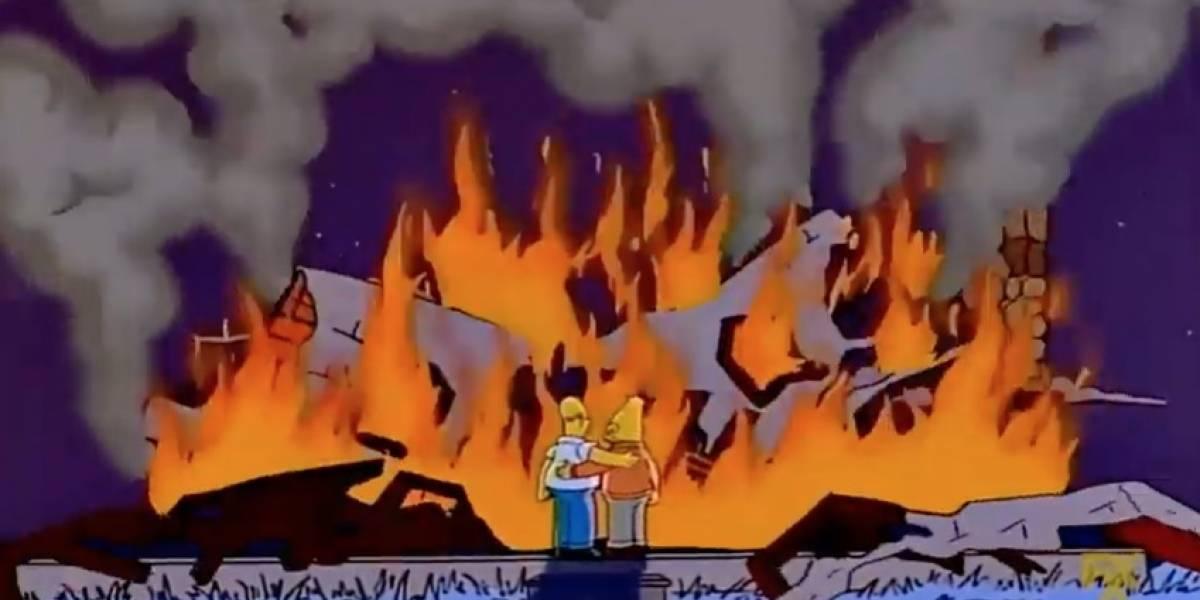 ¿Los Simpsons predicen el futuro? Hay un poco de eso y así es como lo logran